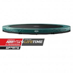 BERG Elite interrato rotondo 380cm verde SPORT