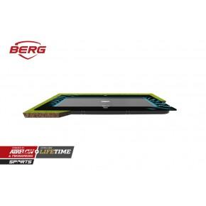 BERG Ultim Elite interrato rettangolare 500x300cm nero sport (senza rete di sicurezza)