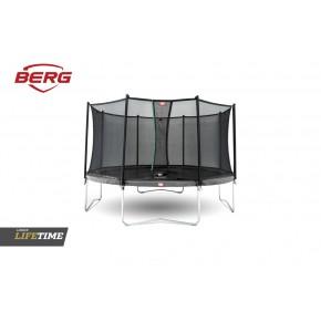 BERG Favorit fuoriterra rotondo 380cm grigio