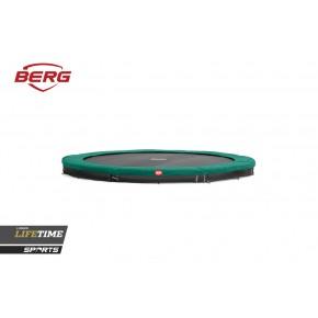 BERG Favorit interrato rotondo 430cm - verde - senza rete di sicurezza (Sport)