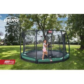 BERG Champion interrato rotondo 270cm - verde - Deluxe