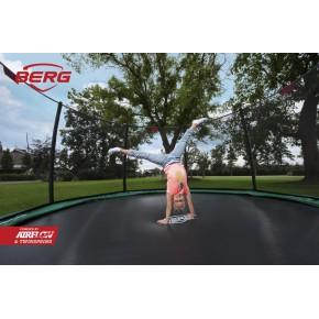 BERG Champion interrato rotondo 430cm - verde - Deluxe