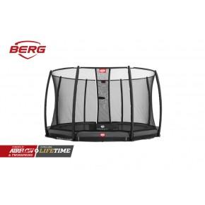 BERG Champion interrato rotondo 330cm grigio