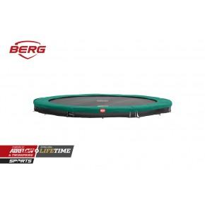BERG Champion interrato rotondo 380cm - verde - senza rete di sicurezza (Sport)
