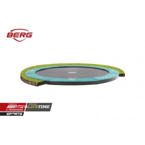 BERG Champion interrato rotondo 330cm verde - senza rete di sicurezza