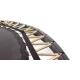BERG Champion interrato rotondo 380cm verde - senza rete di sicurezza