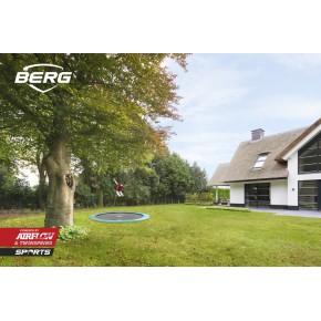 BERG Champion interrato rotondo 430cm - verde - senza rete di sicurezza (Sport)