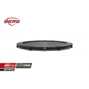 BERG Champion interrato rotondo 380cm - grigio - senza rete di sicurezza (Sport)