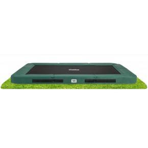Salta Premium Ground interrato rettangolare 366x244 cm verde - senza rete di sicurezza