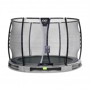 Exit Elegant Premium interrato rotondo 305cm grigio