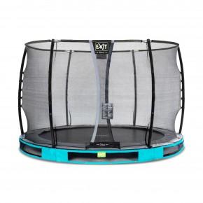 Exit Elegant Premium interrato rotondo 305cm azzurro
