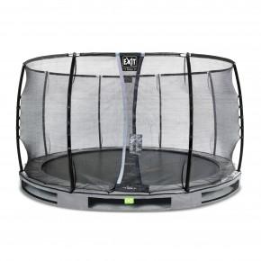 Exit Elegant Premium interrato rotondo 366cm grigio
