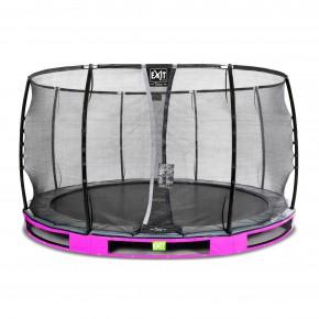Exit Elegant Premium interrato rotondo 366cm rosa