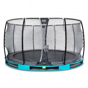 Exit Elegant Premium interrato rotondo 427cm azzurro