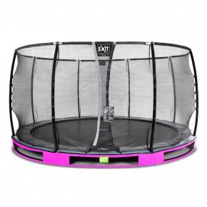 Exit Elegant Premium interrato rotondo 427cm rosa