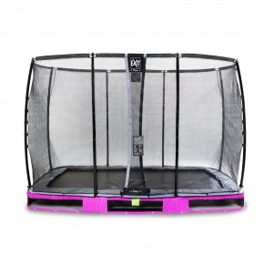 Exit Elegant Premium interrato rettangolare 214x366cm rosa