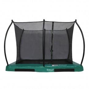 Etan Hi-Flyer interrato rettangolare 281x201cm verde con rete di sicurezza
