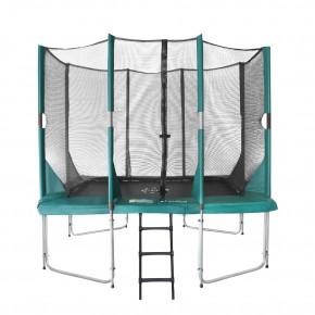 Etan Hi-Flyer fuoriterra rettangolare 281x201cm verde con rete di sicurezza