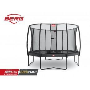 BERG Chiampion fuoriterra rotondo 380cm grigio