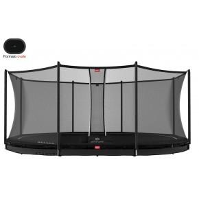 BERG Grand Favorit interrato ovale 520x345cm - nero