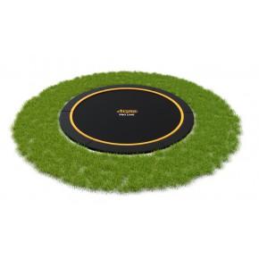 AVYNA Pro-Line Flat-Level interrato rotondo 245cm - nero - senza rete di sicurezza (Sport)