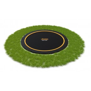 AVYNA Pro-Line Flat-Level interrato rotondo 430cm - nero - senza rete di sicurezza (Sport)