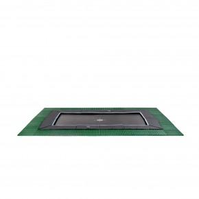 Exit Dynamic interrato rettangolare 244x427cm - nero - con Freezone piastrelle di sicurezza (Sport)