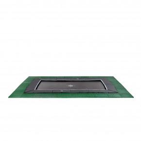 Exit Dynamic interrato rettangolare 275x458cm - nero - con Freezone piastrelle di sicurezza (Sport)