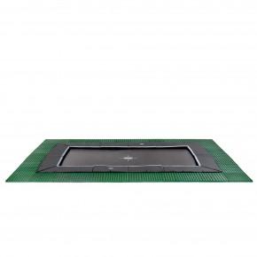 Exit Dynamic interrato rettangolare 305x519cm - nero - con Freezone piastrelle di sicurezza (Sport)