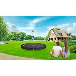 Salta Premium Ground interrato rotondo 251 cm nero